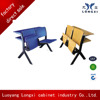 High quality folding student desk chair,university classroom study desk with folding chair