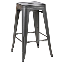 Famous designers commercial bar furniture stackable metal stool use for bar or cafes