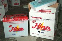 DRY CHARGED CAR BATTERY N 40