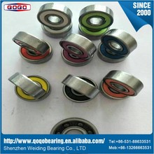 Hot sale 608 ball bearing and ceramic deep groove ball bearing fidget spinner india