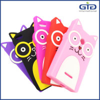 [GGIT] Cartoon Cute Cat Design Silicon Case For IPhone 4G, For IPhone 4 Silicon Protector