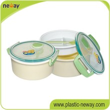 2016 hot selling pp commercial plastic food containers