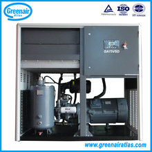 Atlas Copco Group China GA75VSD 75kW 100HP Variable Frequency Energy-Saving Oil Injected Screw Air Compressor