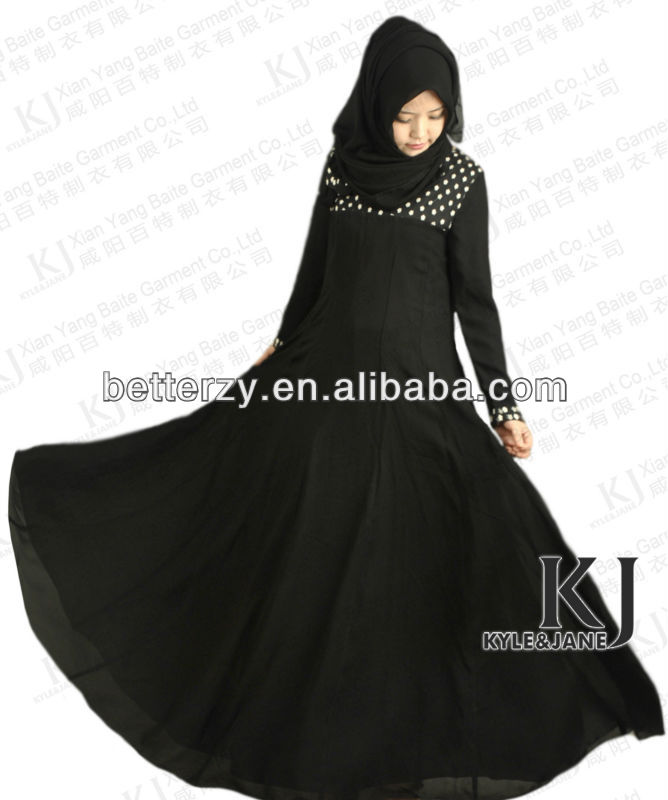 KJ-AM35 2013 new designs dubai modern jilbabs