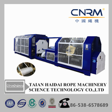 3 strand colorful cotton fiber yarn rope weaving making machine from cotton thread to cord