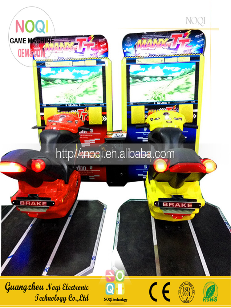NQR-B02 Simulator Machine Max TT motorcycle racing games for game center