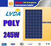 Excellent quality 240w 245w 250w 255w cells 1640*992*40MM polycrystalline solar panel for Amercian market/solar panel in Canada