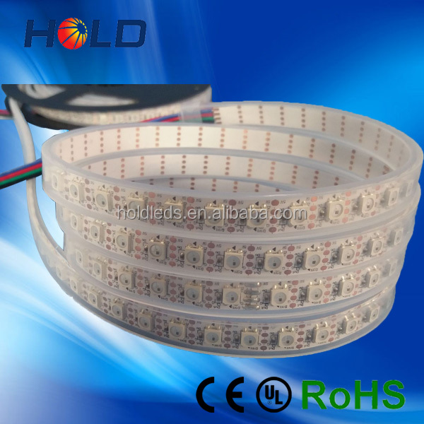 high quality 90LEDs/M 5050 programmable rgb WS2812B LED strip