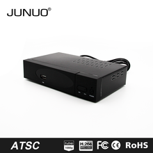 JUNUO china manufacture 2017 new OEM quality mstar full HD mpeg4 Canada ATSC digital tv decoder set top box