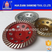 Long life polishing tools turbo type cup wheel with high grinding efficiency