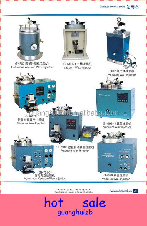 China Supply Wax Injector for jewelry wax injector machine
