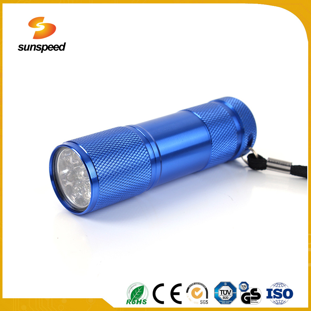 aluminum alloy multi purpose waterproof LED long range torch flashlight