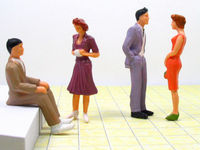 2015 Model painted figure model making , miniature people P30-4