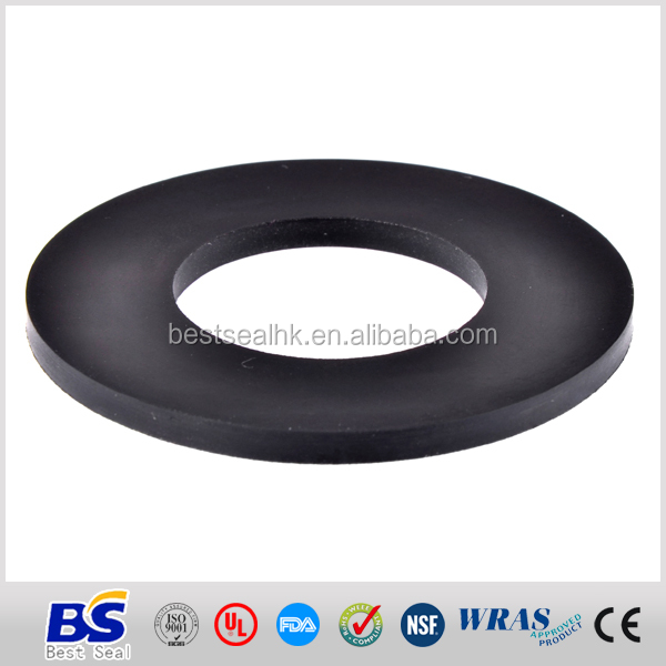 ISO9001 China manufactured rubber stopper washer