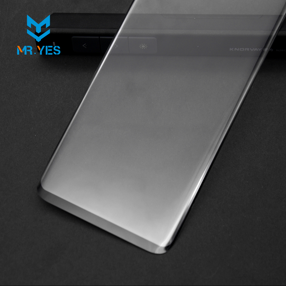 Mryes 2017 best tempered glass Case friendly screen protector for galaxy s8 plus glass full ab glue