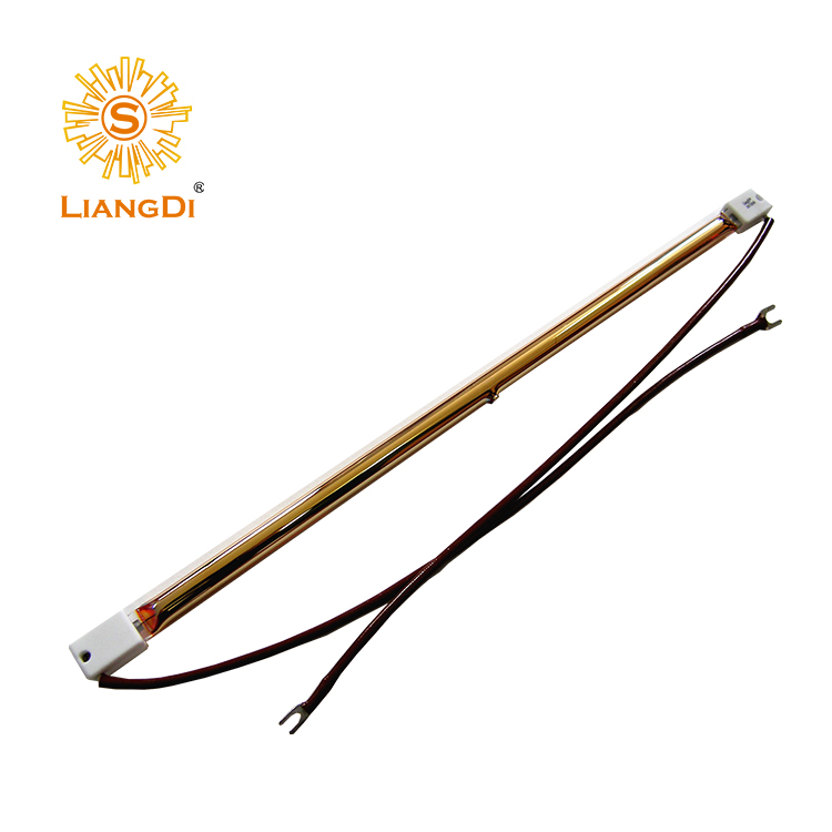 Good quality heat element infrared heater lamp for glass long life