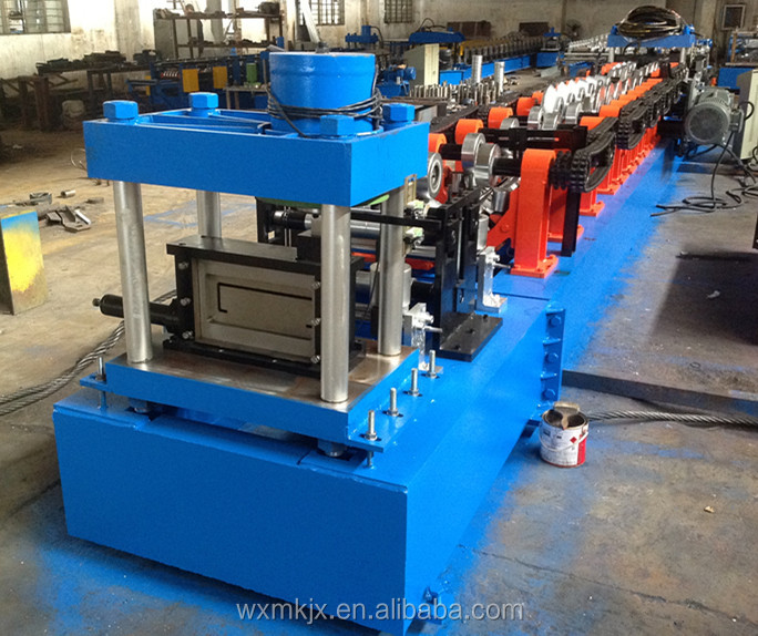 Galvanized Steel frame C Channel /Purlin Roll Forming Machine