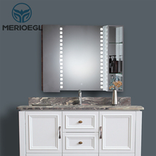 Economic Modern Vanity Bathroom Furniture Mirror With Cabinet
