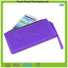 Waterproof silicone rubber makeup pencil bag coin purse