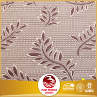 80% polyester 20%cotton cheap curtain fabric with classic jacquard style for hotel