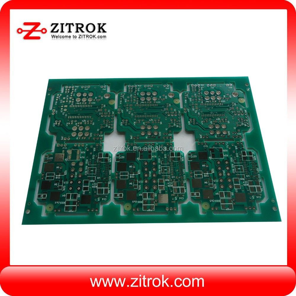 led display board with copper plugged vias special treatment and OEM pcb