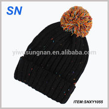 Wholesale winter knitted hat, beanie hats, women's hats