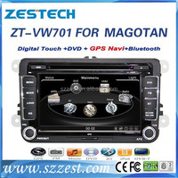 ZESTECH car multmedia player for VW Golf 6 car dvd system gps navigation with 7 inch