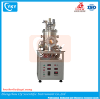 mini pvd coating machine/laboratory small vacuum metallizing machine/small magnetron sputtering coating machine