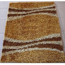 Living room Korean silk in good quality and wholesale shaggy rug ,customize the size