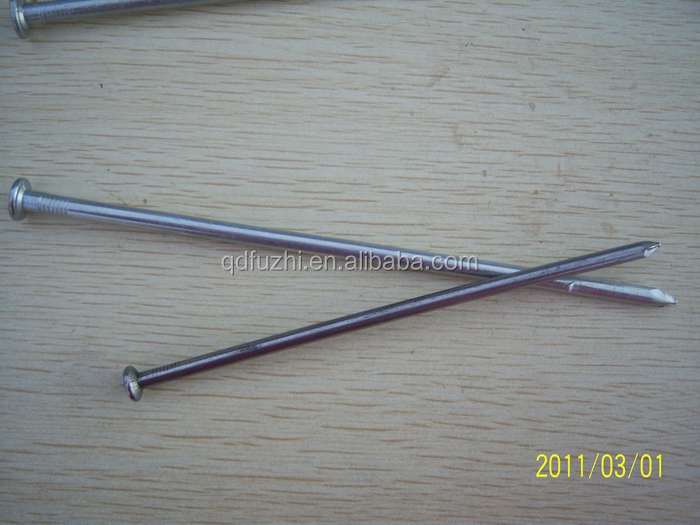 Long size of galvanized common nails