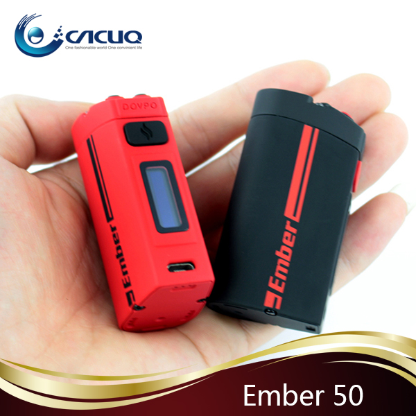 shenzhen stock wholesale DOVPO Ember 50/mini volt/H-priv TC ecig box mod
