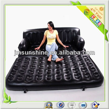 Flocked inflatable furniture, inflatable furniture sofa, flocking furniture inflatable sofa