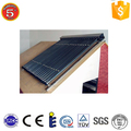 Solar hot water collector panels