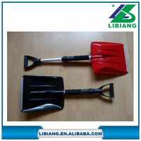 New design garden portable plastic snow shovel