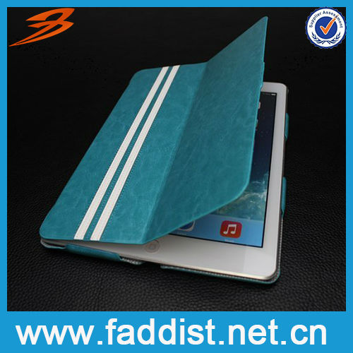 Fashion Stylish Smart Cover Case For Ipad 5 With Stand