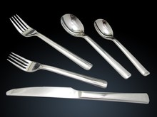 High quality Stainless steel cutlery with high mirror polish for UK