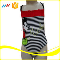Cartoon Style Girl Swimwear Child Swimwear