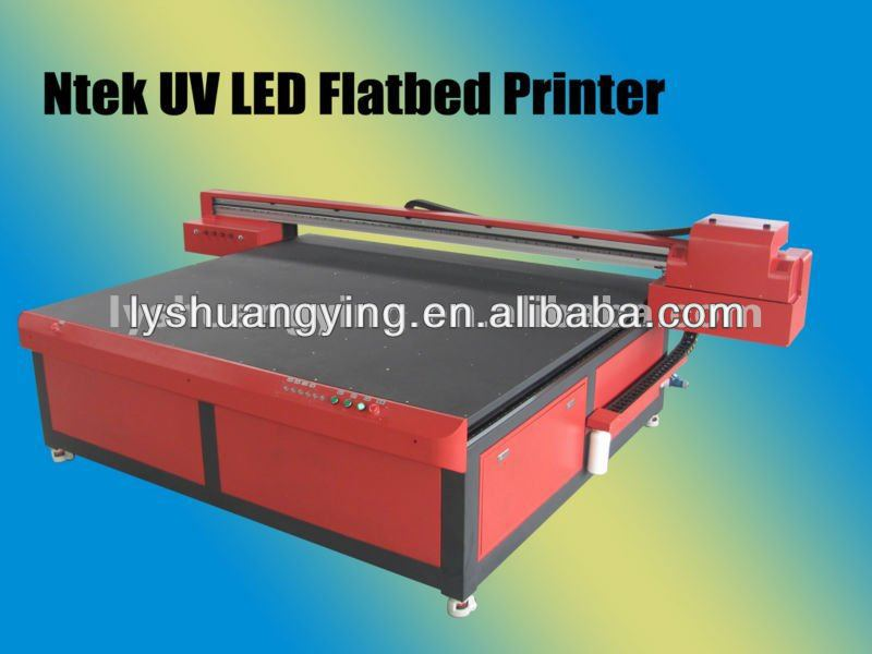 UV LED Outdoor and indoor pvc sticker inkjet flatbed Printer