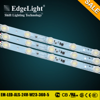 Edgelight Alibaba express profile popular aluminum 3535 illume led strip lighting with standard size for sales