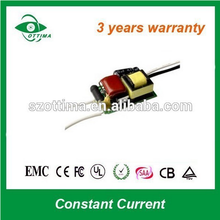 230Vac 9v dc led driver circuit 3w 5w 7w 9w 12w 18w open frame dimmable swithing power with ce rohs