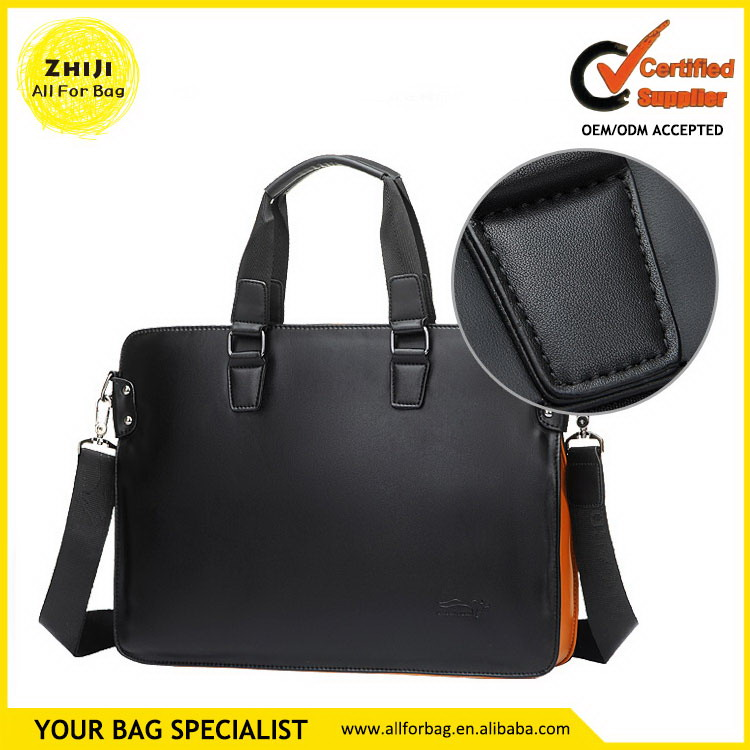 Cheap price custom high quality leather briefcases for lawyers