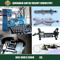 QG Series steel pipe shot blasting machine with good Spare parts