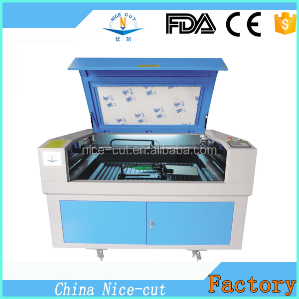 NC-1390 CO2 acrylic plastic carpet used c02 laser engraver