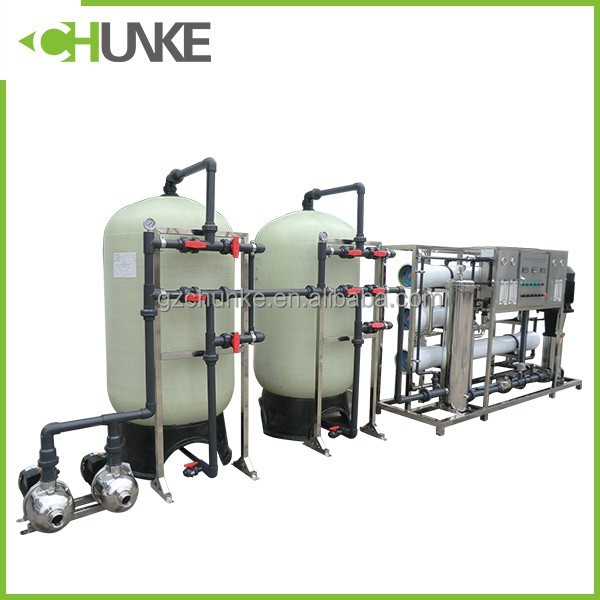 Guangzhou Chunke customized 3000l/h ro system drinking water treatment plant machine