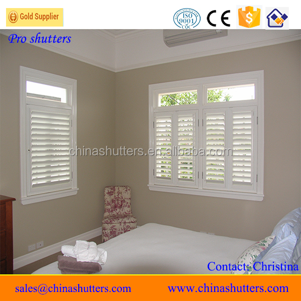 Factory direct shutter vinyl profile windows and doors