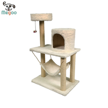 High-end Plush&Sisal Cat Playground Confortable Hammock For Pet Cats
