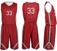 New model Full dye sublimated smooth latest basketball jersey design