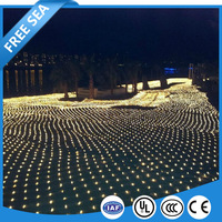 Christmas Outdoor Flashing Mesh Net String Lights Fairy Party Weeding Ceiling Light Decor