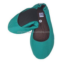 Blue Nice Hot Popular comfortable girl foldable shoes could be flex match small bag
