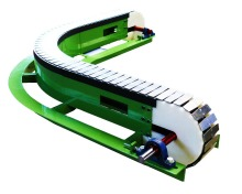 Modern chain saw wood conveyor chain